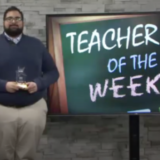 Logan Robles names Teacher of the Week