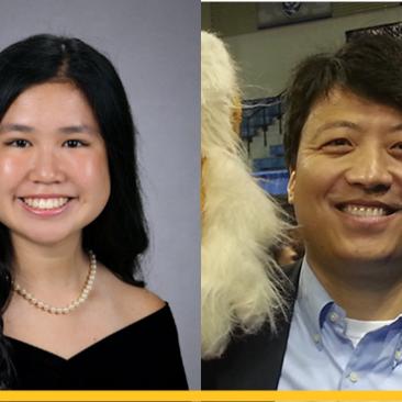Dr. Kai Shen and Tiana Ruden